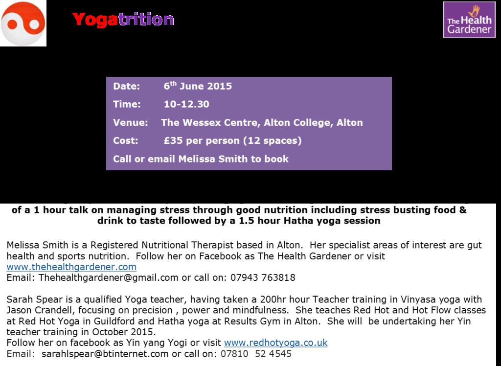 Yogatrition