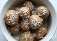 Peanut Butter & Coconut balls