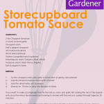 Storecupboard tomato sauce